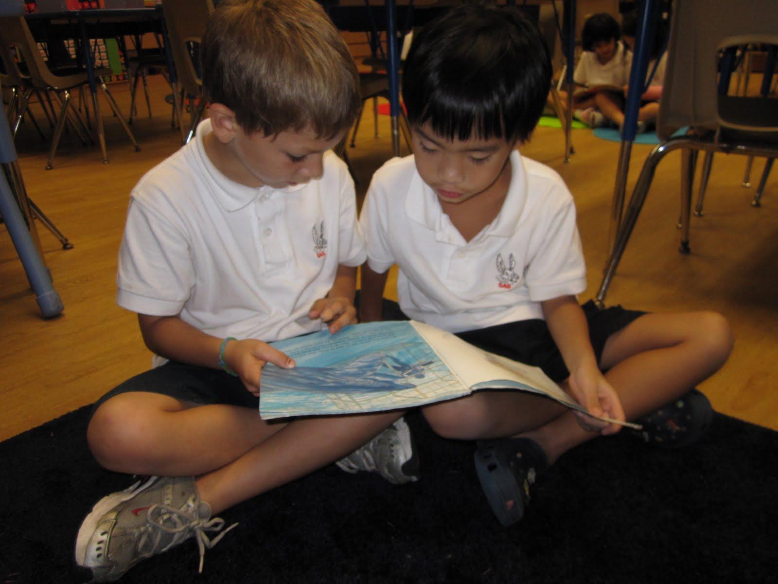 partner reading classroom mrs