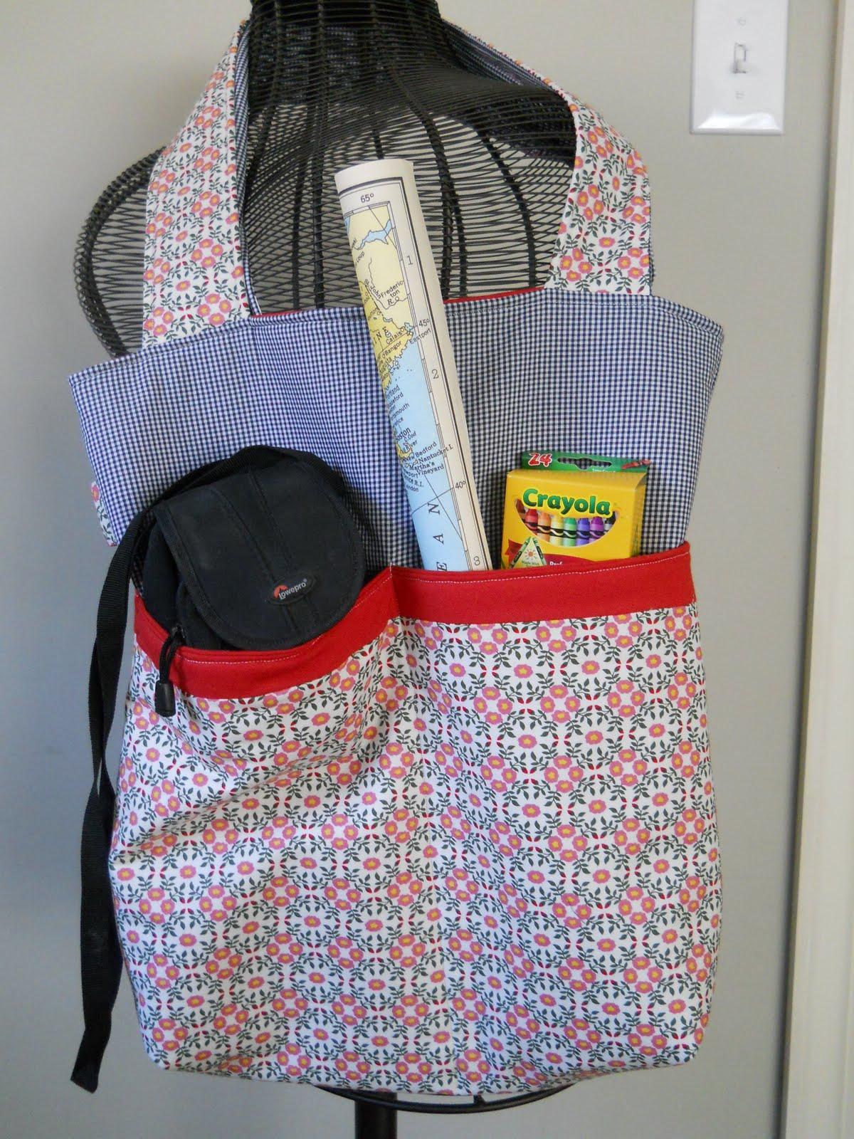 Tutorial On Makeup Application: FlyChicks: Tote Bag Tutorial