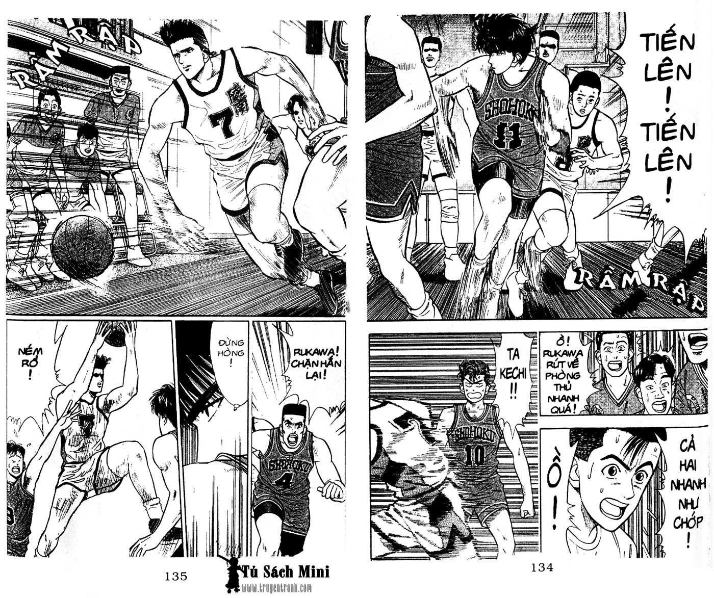 Slam Dunk chap 28 trang 13
