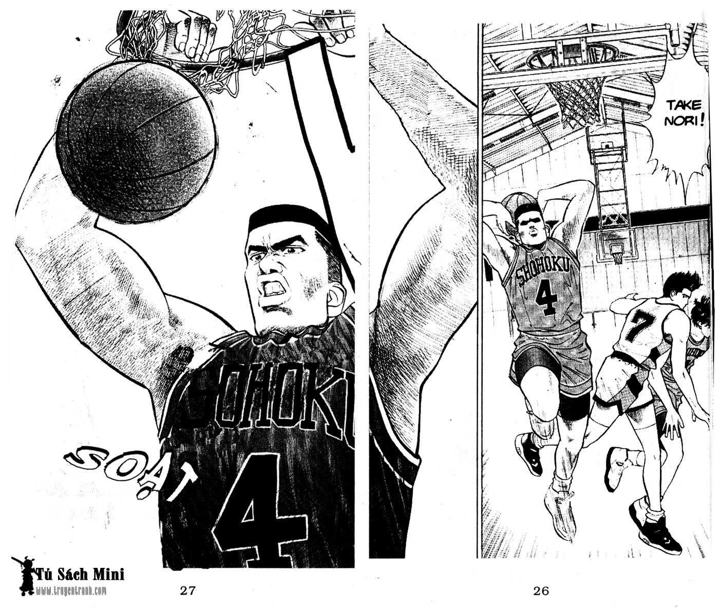 Slam Dunk chap 30 trang 26