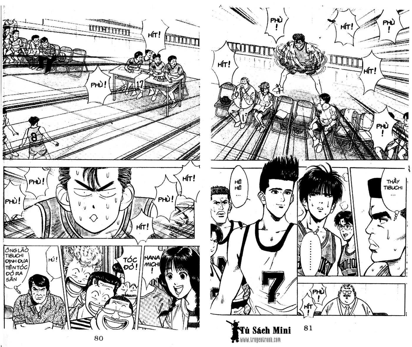 Slam Dunk chap 33 trang 10