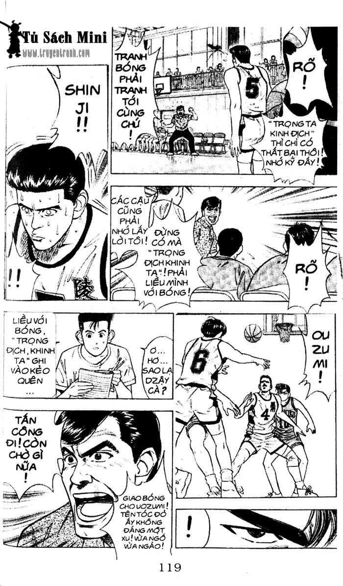 Slam Dunk chap 34 trang 28