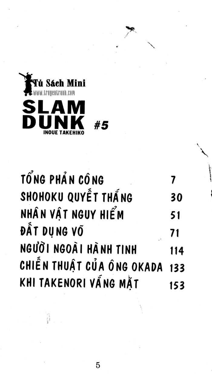 Slam Dunk chap 30 trang 6