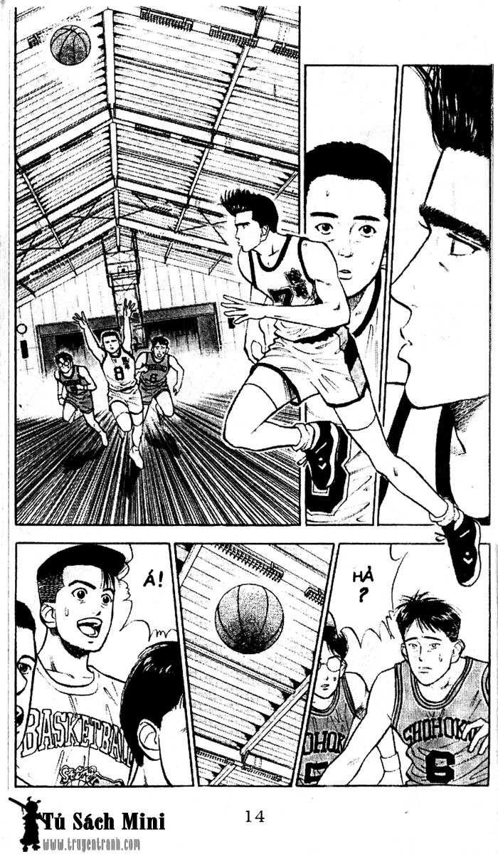 Slam Dunk chap 30 trang 15