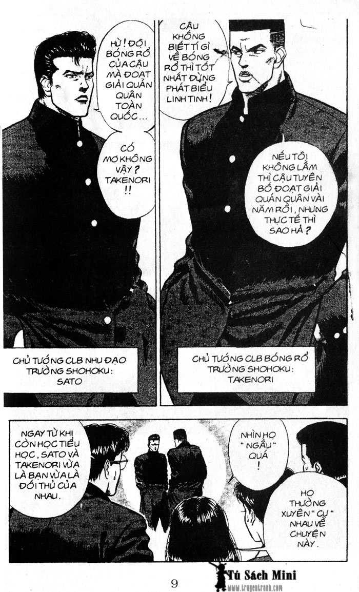 Slam Dunk chap 16 trang 10