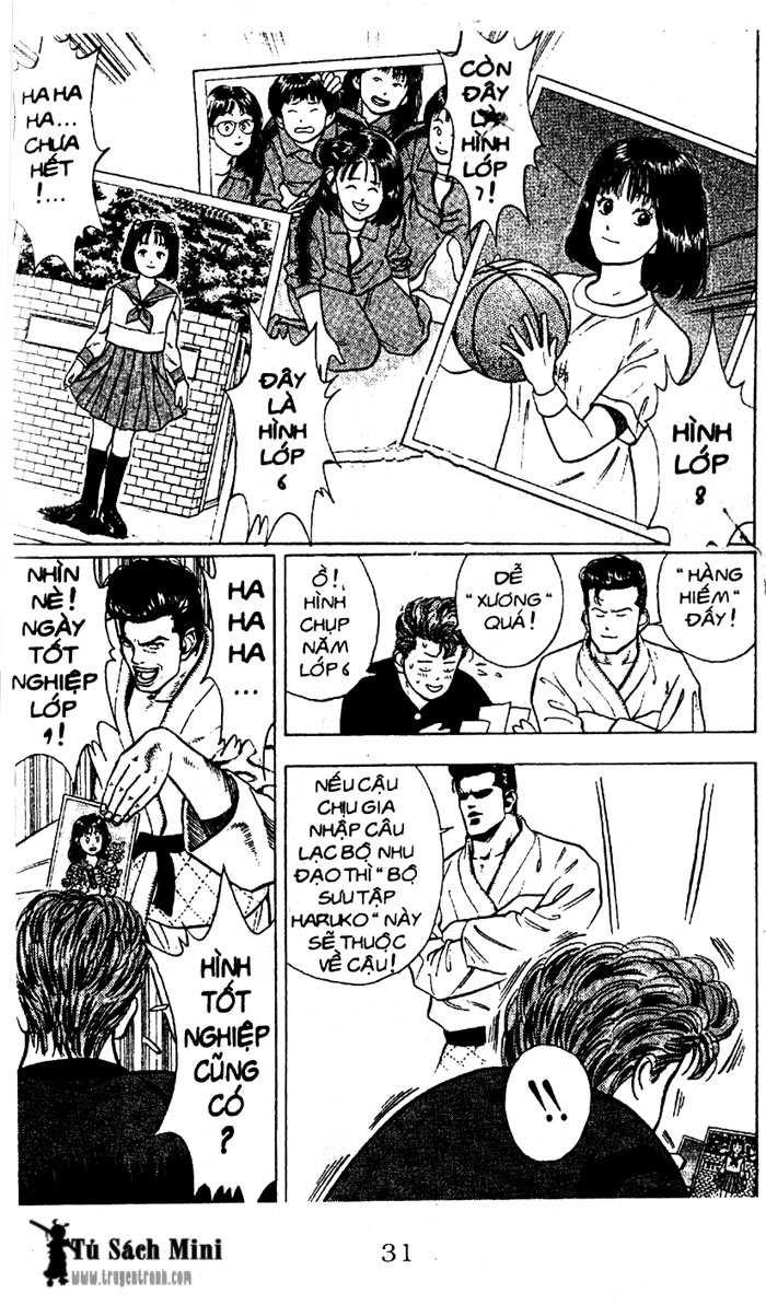 Slam Dunk chap 16 trang 32