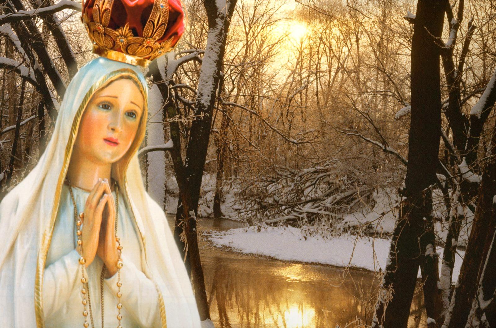 Nossa Senhora: Jesus E Maria: NOSSA SENHORA DE FATIMA ROGAI POR NÓS