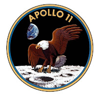 Logotipo de la misión Apollo 11