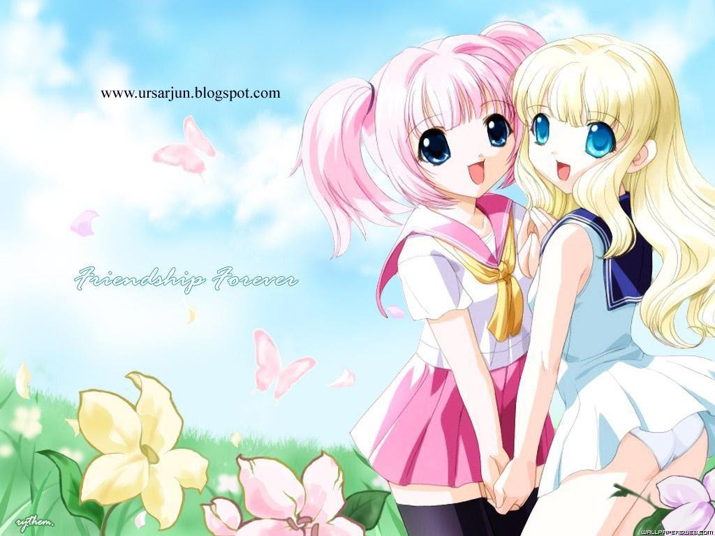 anime best friends wallpaper - photo #20