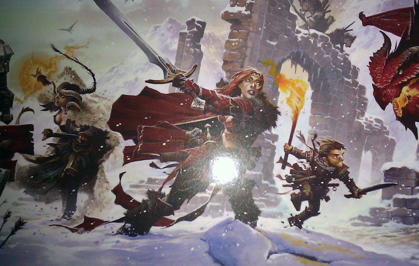 DM Screen, Deluxe Edition Overview - Points of Light