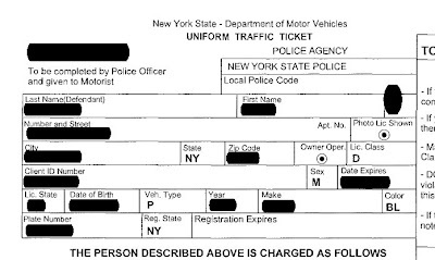 Nyc Traffic Ticket >> Understanding Your Nys Traffic Ticket Annotated Traffic