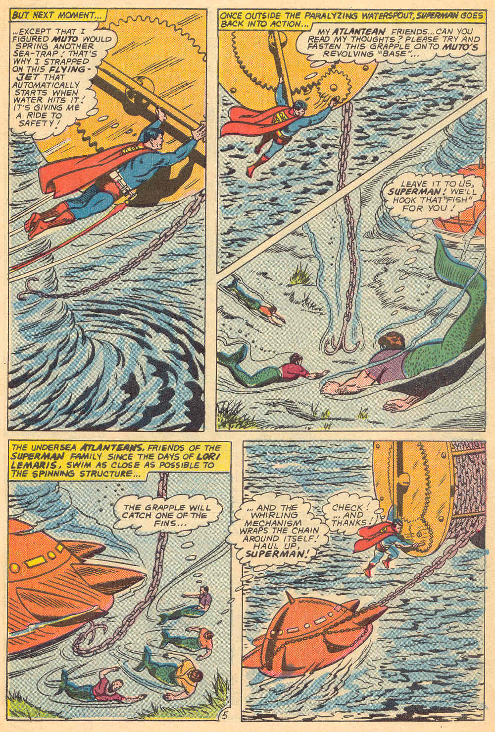 Read online Action Comics (1938) comic -  Issue #339 - 6
