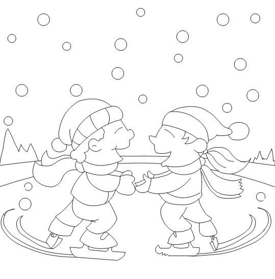 Winter Disney Coloring Pages | printable coloring for kids ...