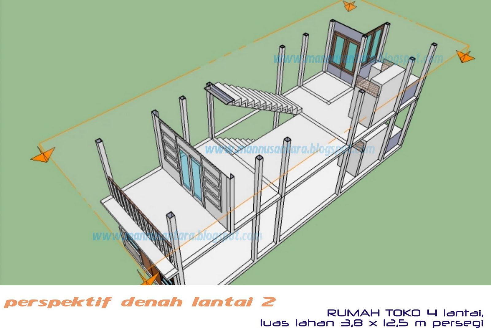 ManNusantara Design Indonesia: Desain Rumah Toko (Ruko ...