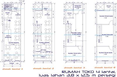 mannusantara design indonesia: desain rumah toko (ruko