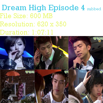 Dream high 1 full episode eng sub