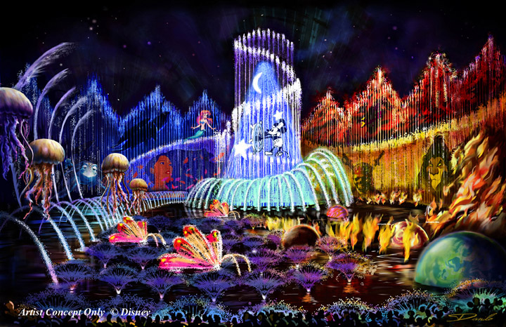 Disney S World Of Color Video
