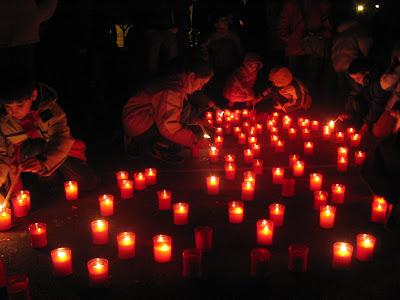 PROIDE: Encesa solidària a Sant Celoni