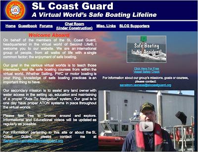 Blog #7 Second Life Coast Guard | Denise Cullen