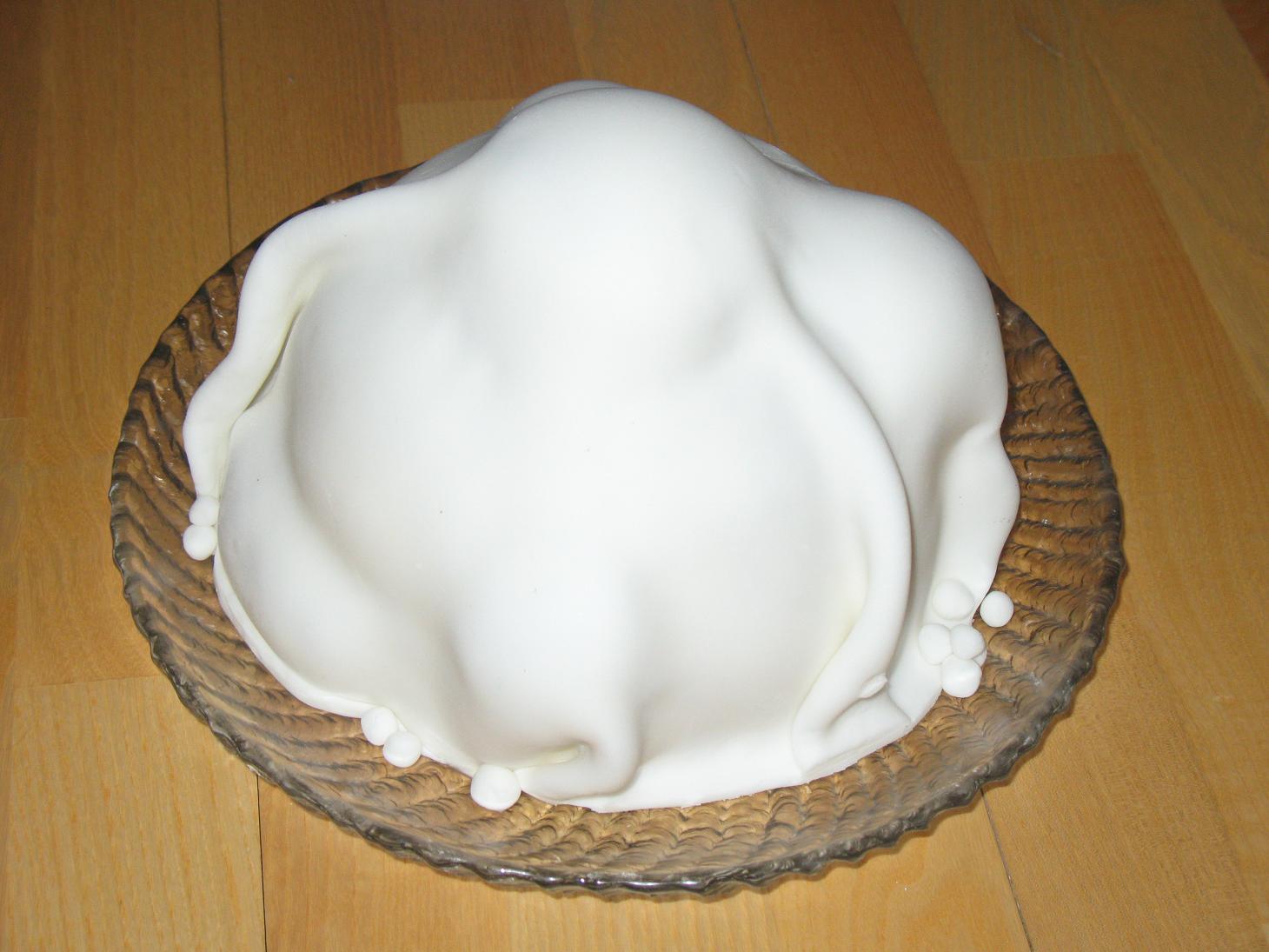 Sokerimassa Kakun Päälle