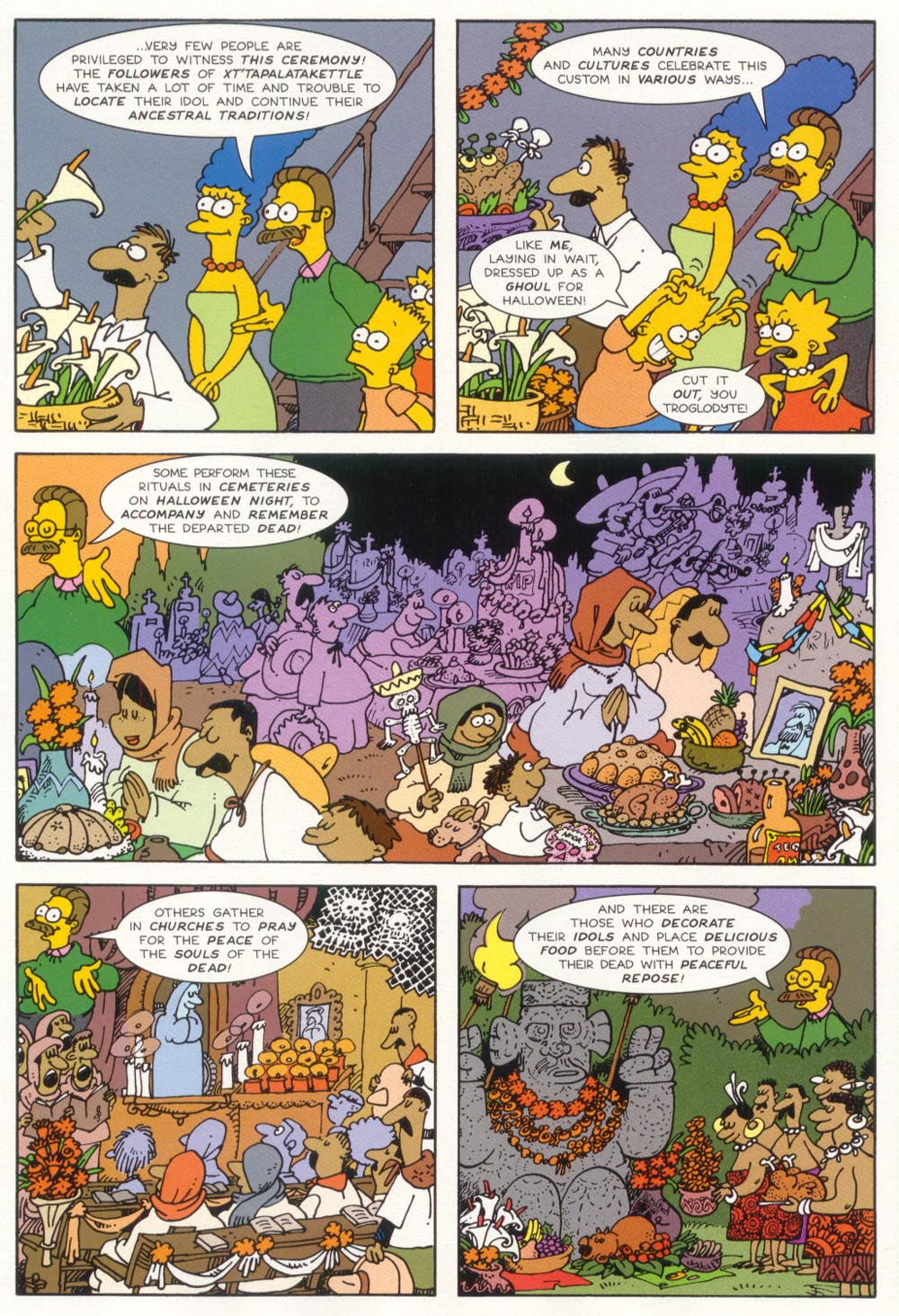 Read online Treehouse of Horror comic -  Issue #5 - 19