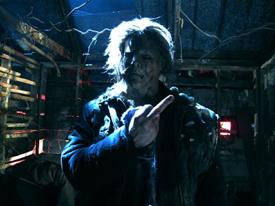 Hes quite pissed off, so in 2010, with the movie Halloween 3, hes gonna slash us all in 3D as a revenge!