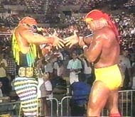 The Mega-Powers Handshake