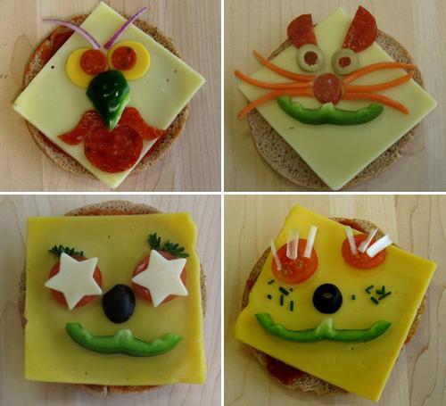Recetas divertidas para ni os decoraci n con verduras for Decoracion de canapes