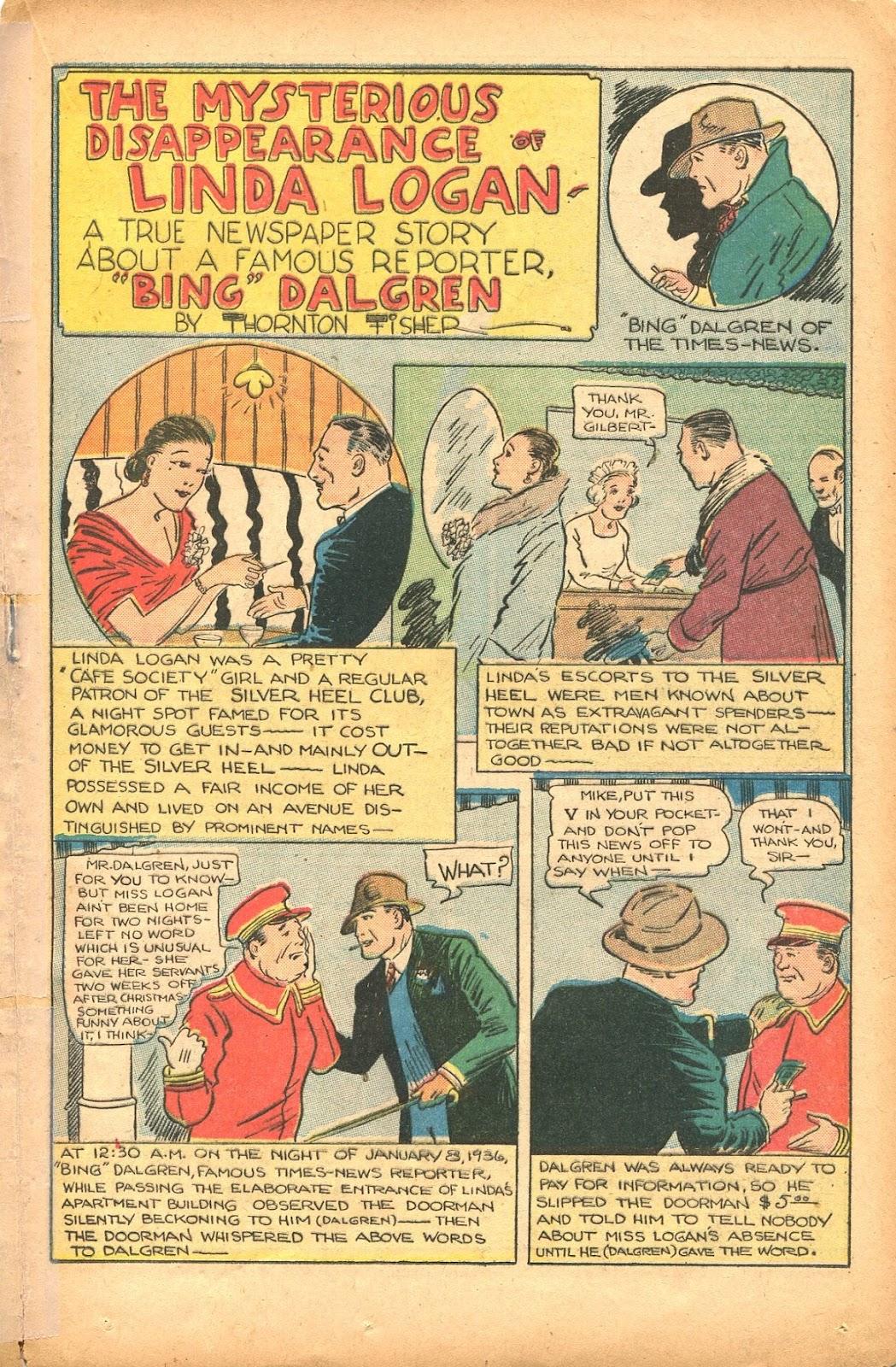 Read online Super-Magician Comics comic -  Issue #35 - 33