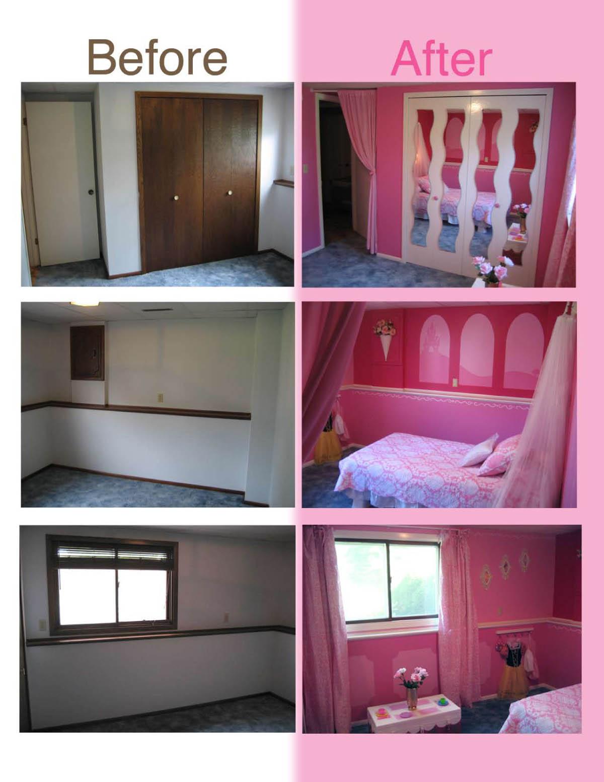 ID Mommy: DIY Princess Themed Bedroom by Heidi Panelli
