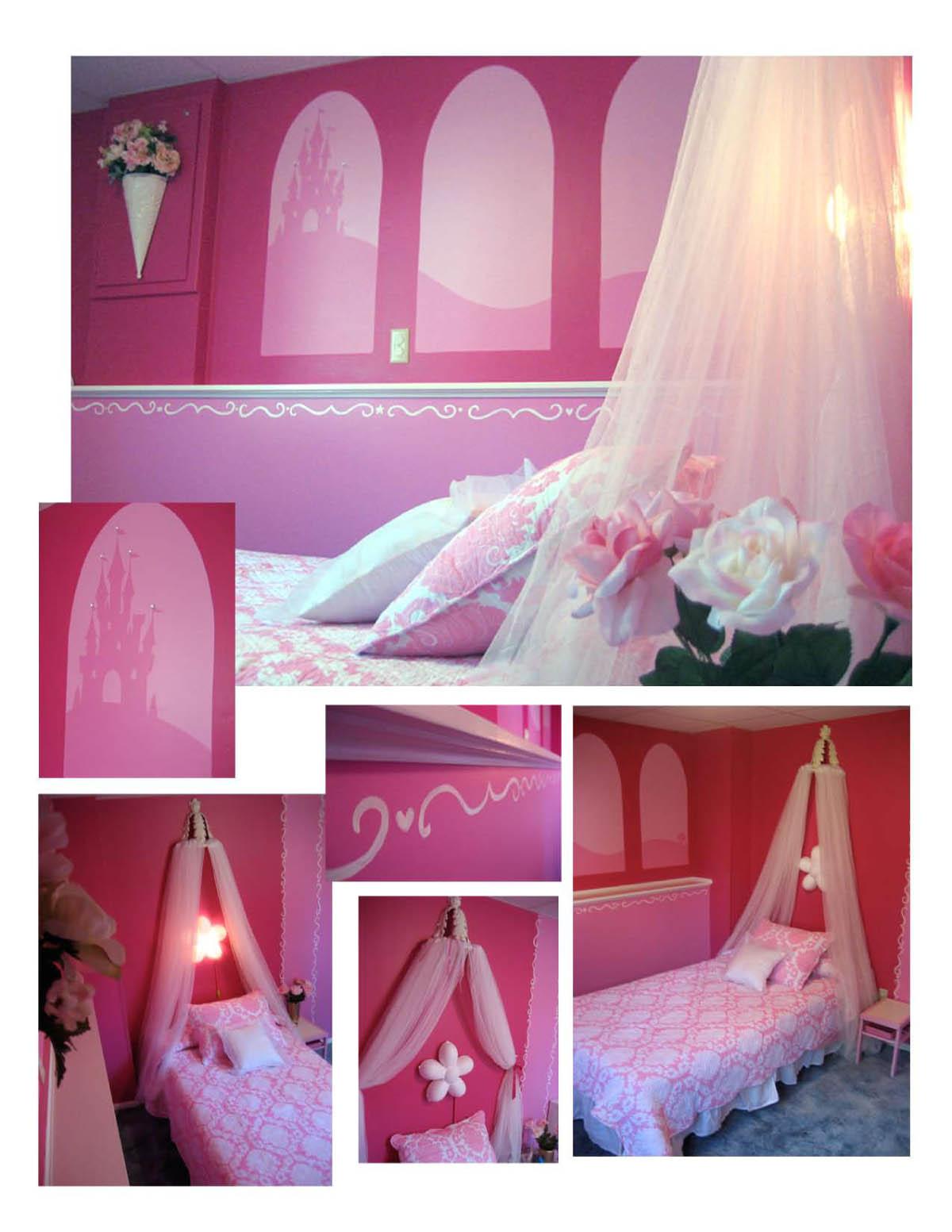 Disney Princess Bedroom Decor Photograph
