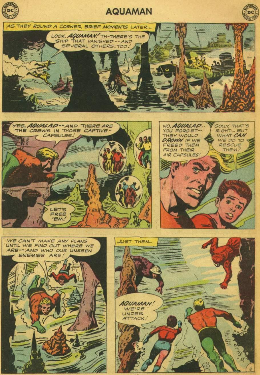 Read online Aquaman (1962) comic -  Issue #5 - 8
