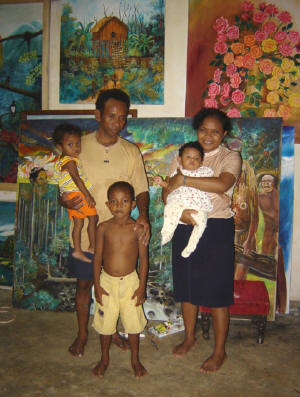 West Papuan artist from Manokwari