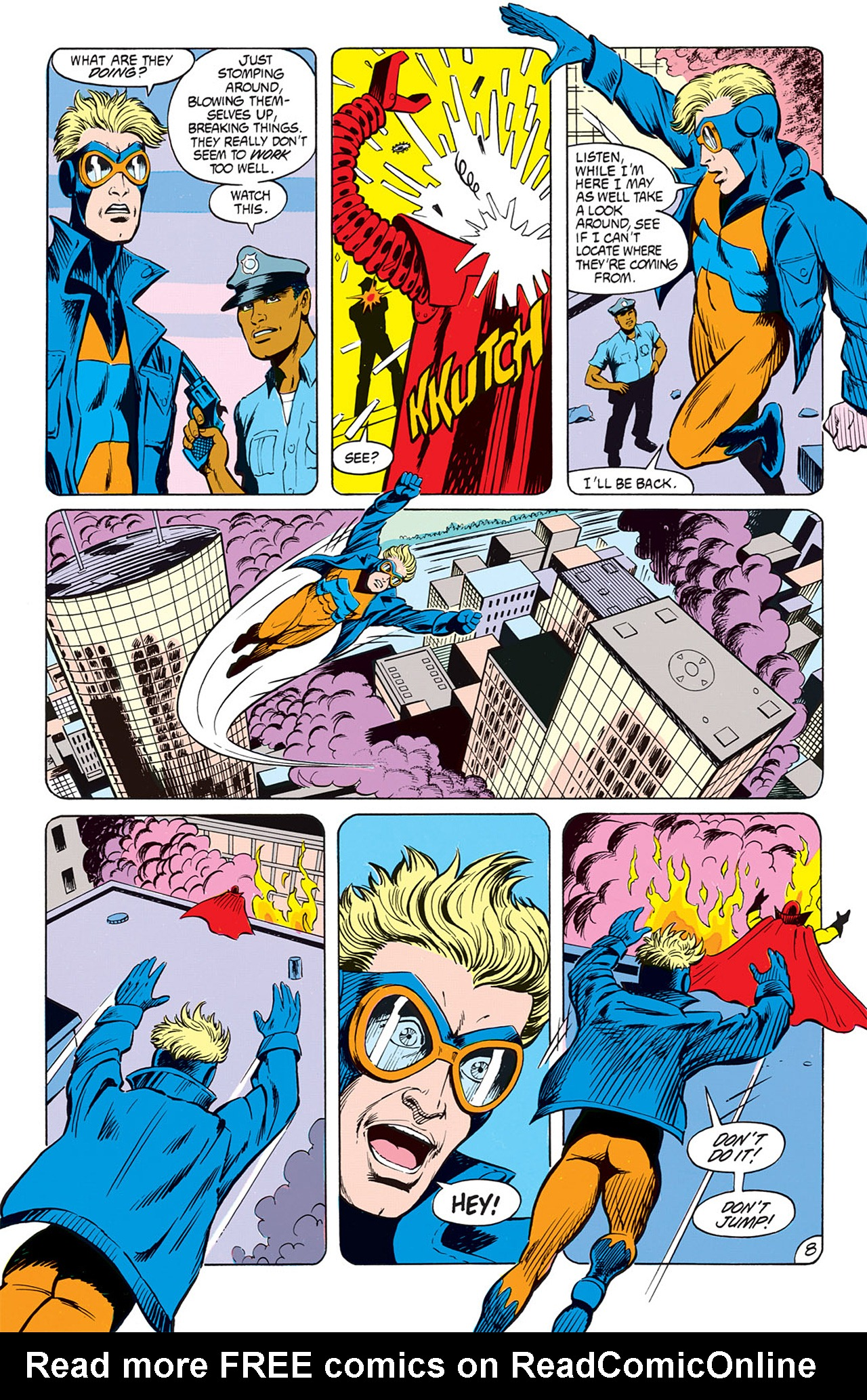 Read online Animal Man (1988) comic -  Issue #7 - 10