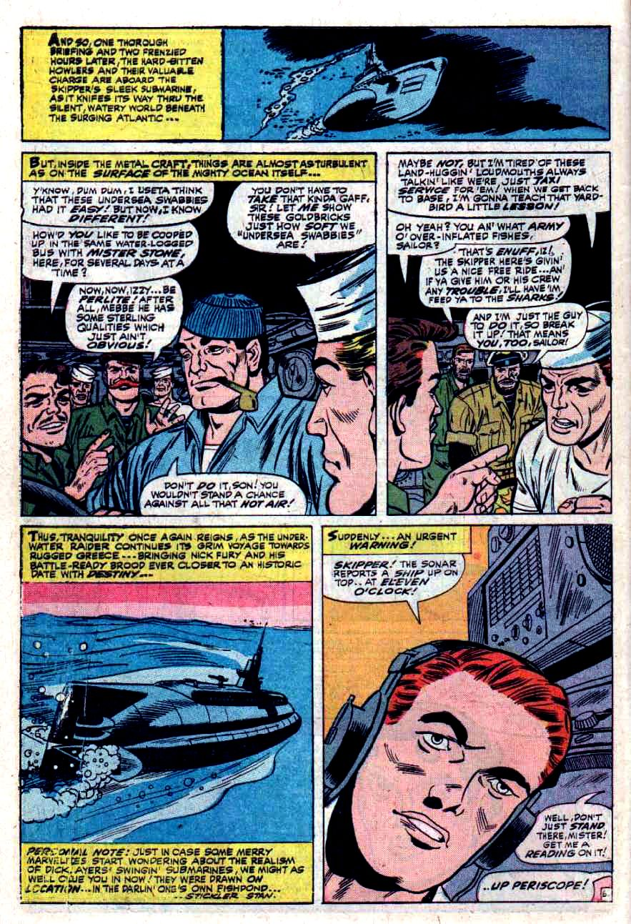 Read online Sgt. Fury comic -  Issue #33 - 10