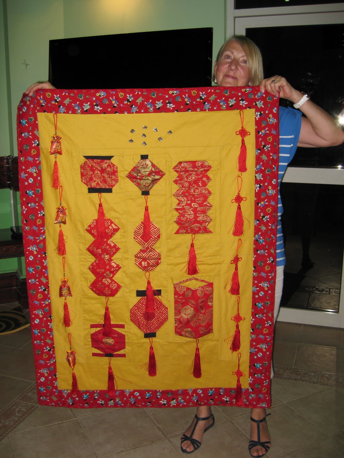 Qatar Quilt Guild September Meeting Show And Tell