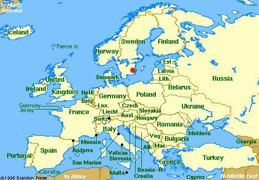 stort europa kart Den store reisen stort europa kart