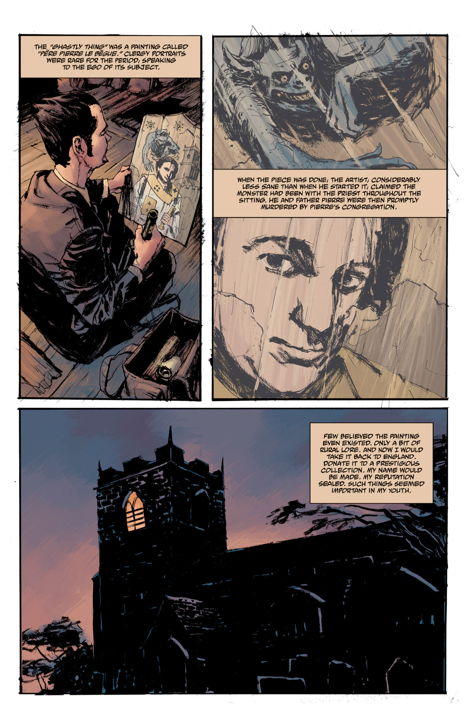 Read online B.P.R.D. (2003) comic -  Issue # TPB 13 - 141