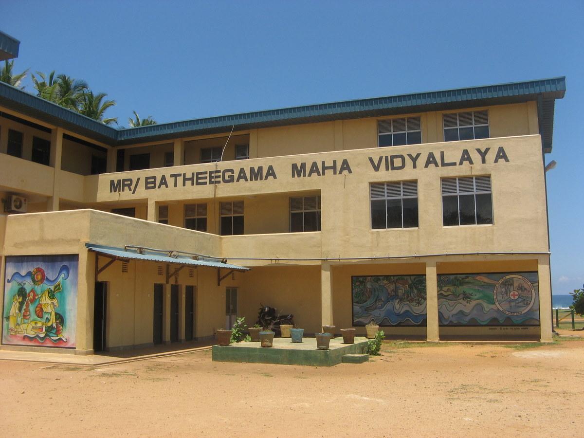 Clive In Sri Lanka School Visit
