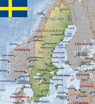 Suécia - Geografia, História, Economia, sociedade e cultura da Suécia