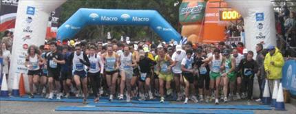 Maratón Internacional de la Bandera- Rosario Sta Fe Argentina