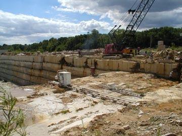 restless rocks: quarrying Indiana Limestone