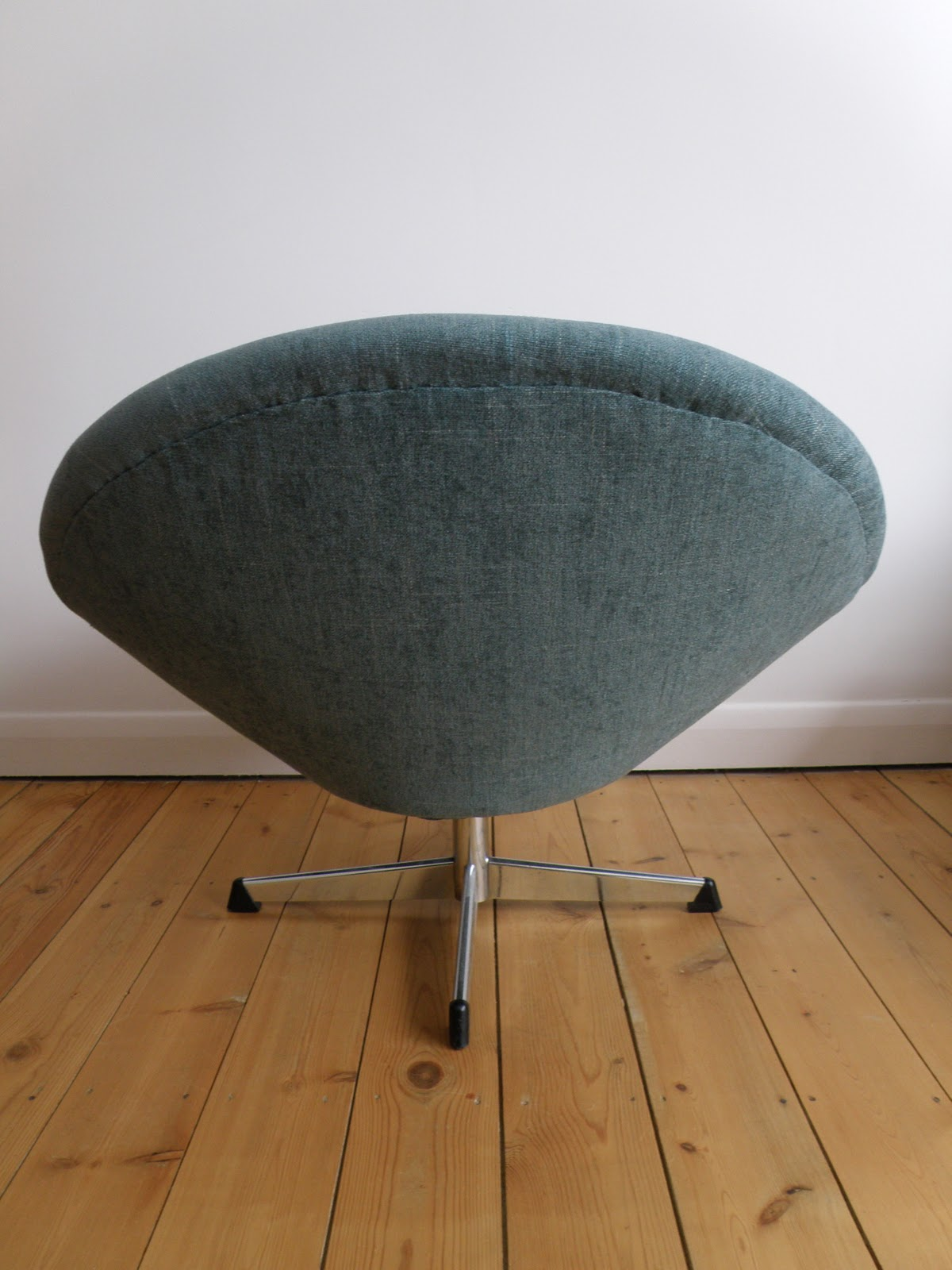 Vernon Panton Chair Lift Recliners Antikmodern The Shop Reupholstered Sixties Bucket