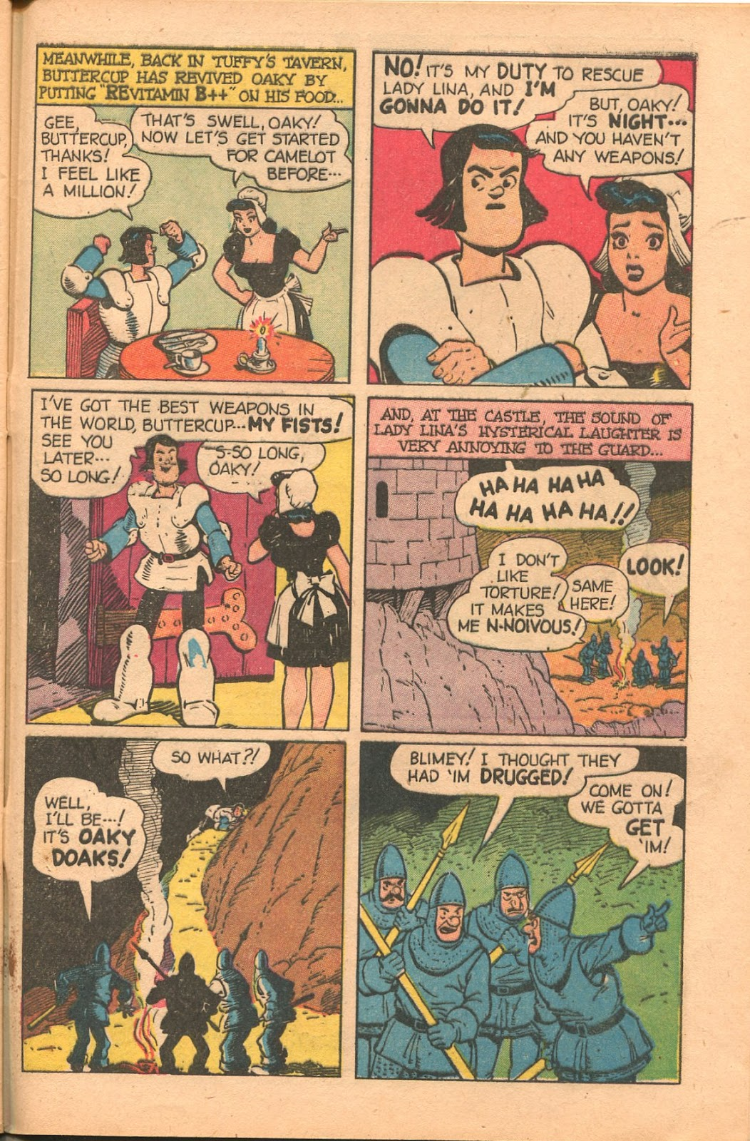 Read online Famous Funnies comic -  Issue #165 - 45