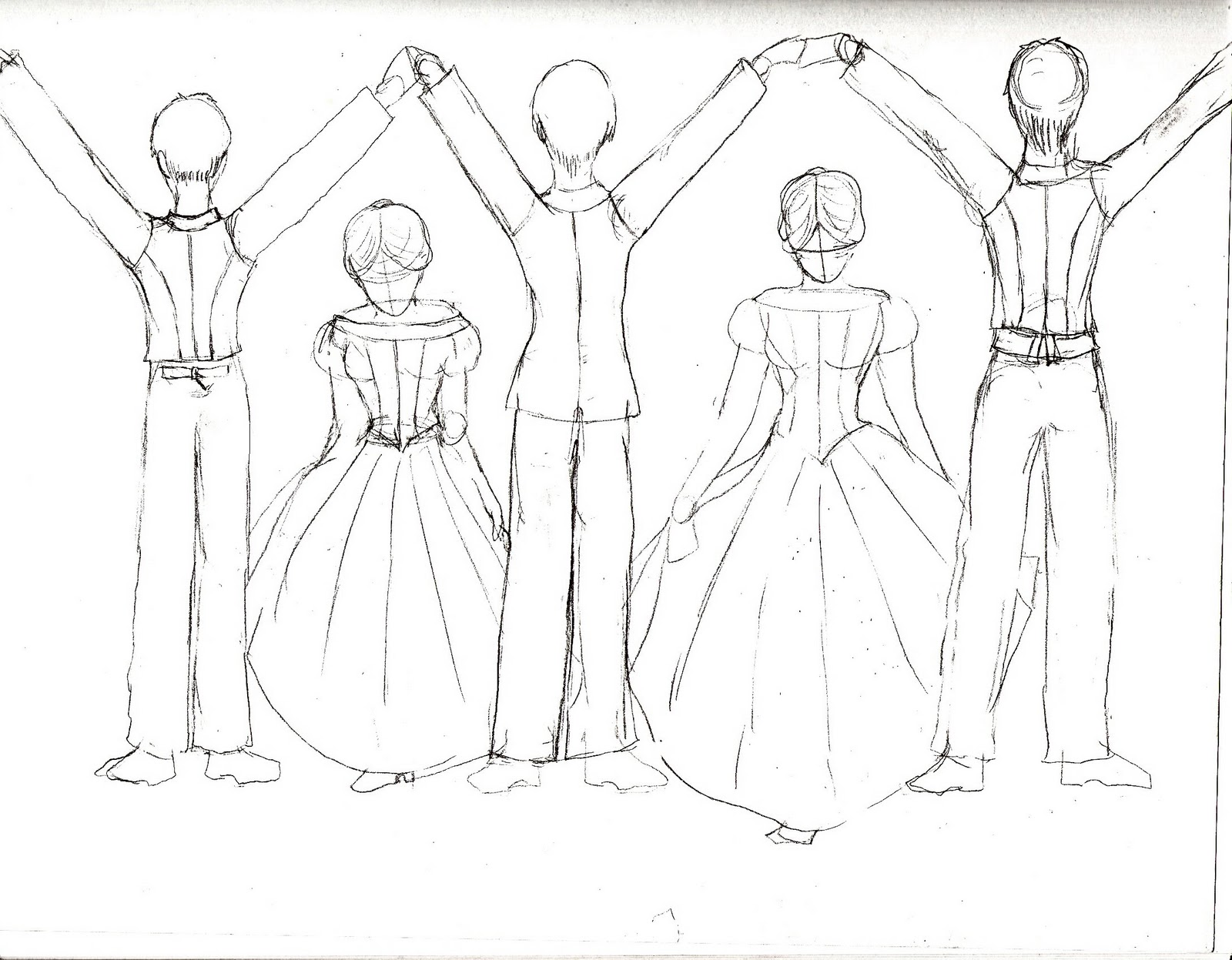 Civil War Dance The Gothic Instructions