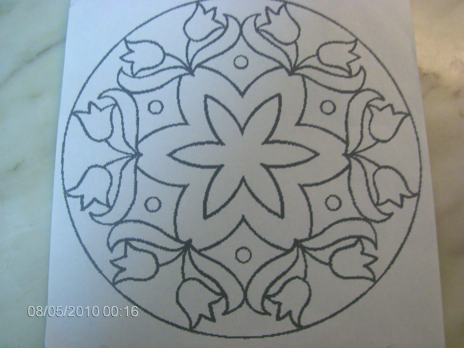 Arte Em Vidro: Desenhos Para Pinturas No Vidro: Mandalas