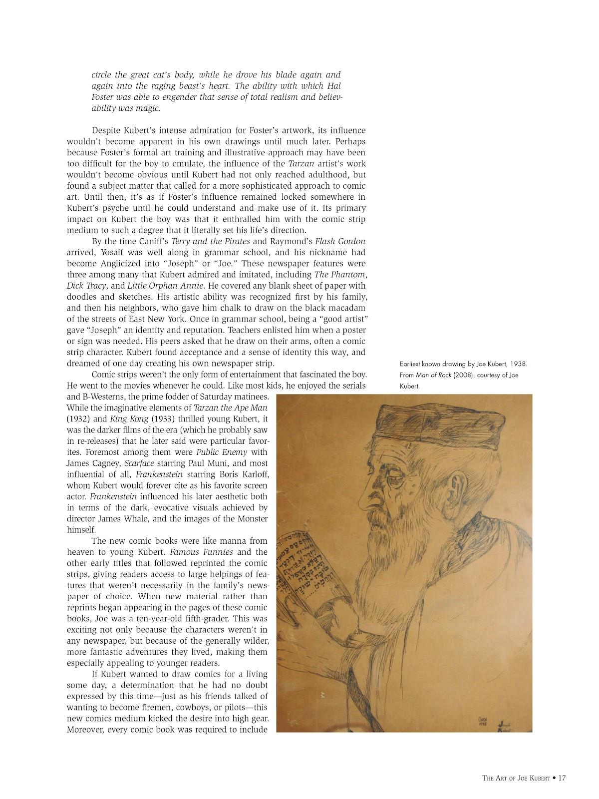 Read online The Art of Joe Kubert comic -  Issue # TPB (Part 1) - 17