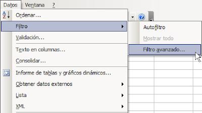 Jld Excel En Castellano Usar Microsoft Excel Eficientemente Usando Filtro Avanzado En Excel