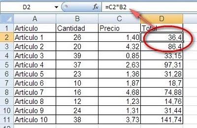 Estilo de referencia F1C1 en Excel ~ JLD Excel en Castellano - Usar ...
