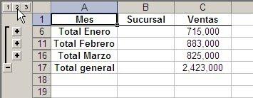Agrupar y desagrupar filas en hojas protegidas ~ JLD Excel en ...